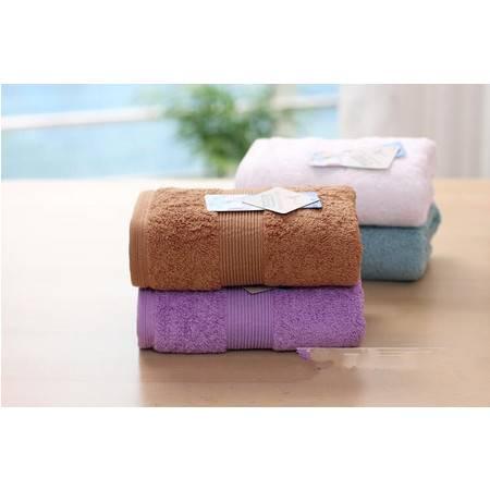 正品孚日洁玉1270素色埃及长绒棉加大加厚高档精品毛巾