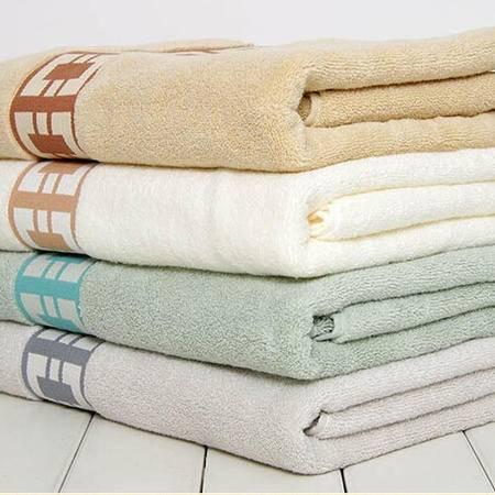孚日洁玉浴巾JY-1490B加大加宽加厚柔软吸水正品纯棉素色