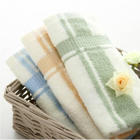 孚日洁玉才子毛巾4条装 柔软吸水 纯棉柔软透气家庭装洁面巾毛巾