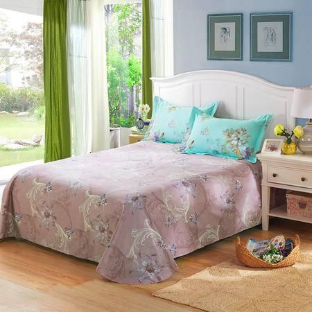 天囍坊100%纯棉圆角床单双人全棉单件被单 床上用品230*250cm包邮