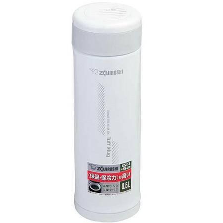 象印不锈钢真空保温杯500mlSM-AFE50-WB白色