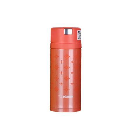 象印(ZOJIRUSHI) 不锈钢保温杯 360ml SM-XA36-DB橘色