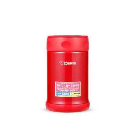 象印(ZOJIRUSHI) 不锈钢真空焖烧杯500ml SW-EAE50-PJ红色