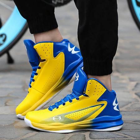 凯王帝 篮球鞋高帮透气运动鞋轻便新款秋季减震战靴透气男鞋