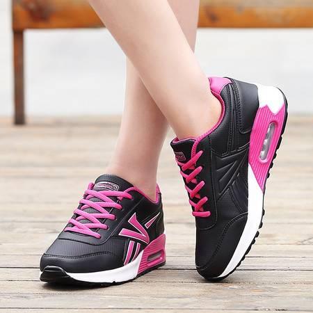 凯王帝 秋季韩版运动鞋女鞋透气网面鞋平底休闲鞋单鞋跑步鞋学生气垫鞋女