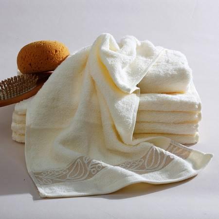 Gol高乐 纯棉素色提缎面巾毛巾 3313