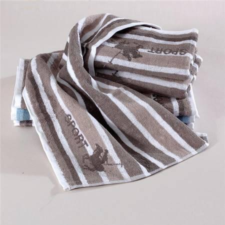 Gol高乐 全棉条纹提花面巾运动毛巾 3317