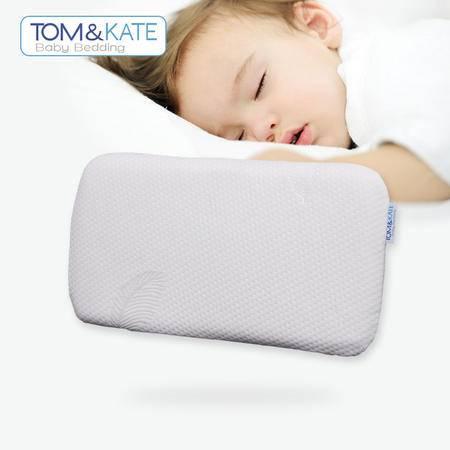 TOM&KATE 汤姆·凯特天然泰国乳胶枕儿童平枕M型 枕头/枕芯/按摩枕/保健枕