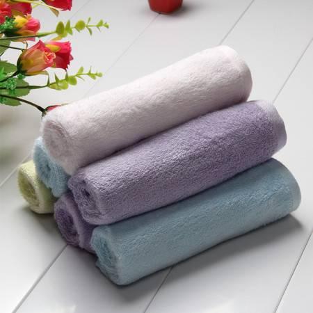 碧竹竹纤维毛巾 专业健康洗脸毛巾 加厚美容巾小毛巾