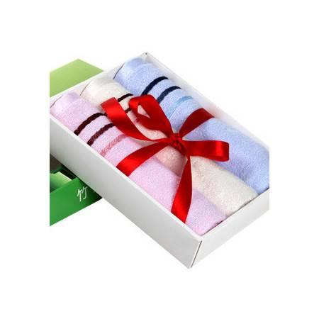 碧竹 竹纤维毛巾 礼盒装 家庭套装美容巾 加厚毛巾批发