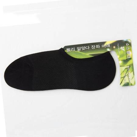 碧竹竹纤维男士袜子夏天超薄款船袜隐形浅口硅胶防滑男袜