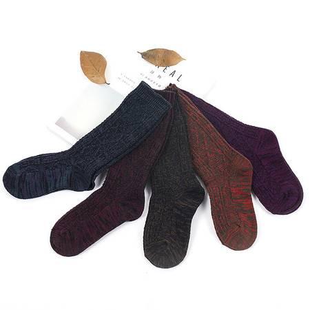 碧竹高筒袜女 韩国袜子学院风堆堆袜秋冬原宿分复古文艺青年女袜