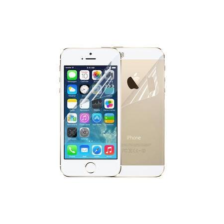 品胜 iPhone5s/5 手机保护贴膜 光面高透(前+后套装)