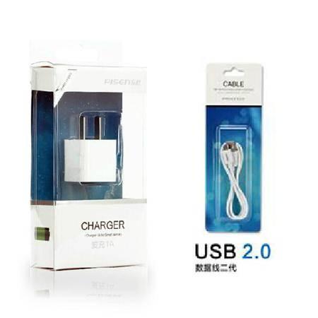 品胜爱充+mot-2数据线 安卓 HTC 三星 小米 华为 Micro USB充电线器 套装