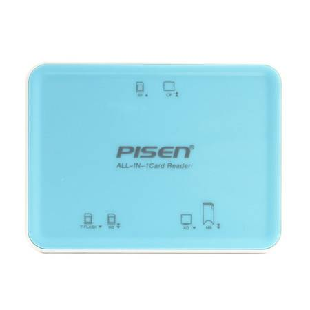 品胜 多功能读卡器 TF M2 SD MS CF XD USB2.0 多合一万能读卡器
