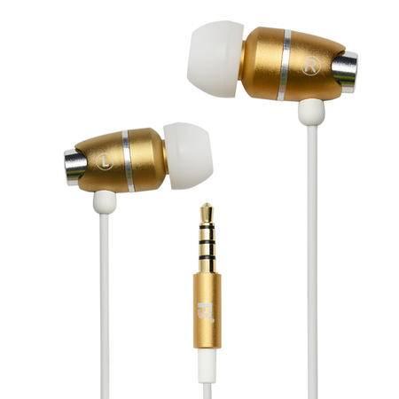 沣标(FB) 入耳式线控带麦立体声耳机 FB-Y01 香槟金苹果iPhone6s