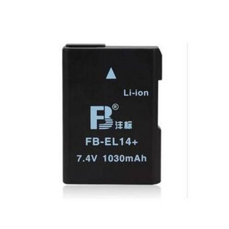 沣标(FB)EN-EL14 摄像机/数码相机电池 尼康D3100 D3200 D5100
