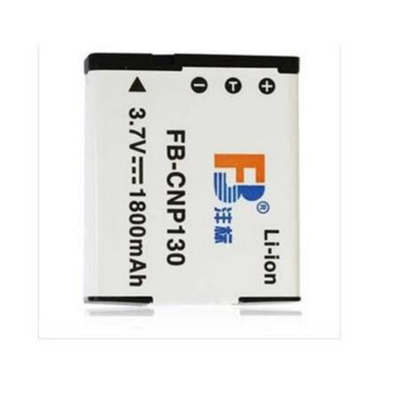 沣标(FB)CNP130 数码相机电池 适用卡西欧EX-ZR400 ZR410ZR800