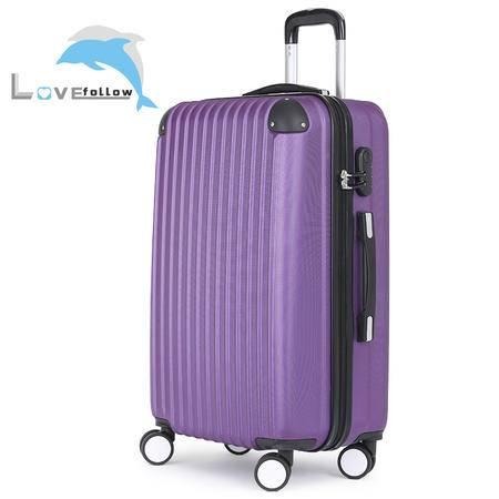 爱相随商务箱包拉杆箱飞机轮行李箱旅行箱登机箱 20寸axs10