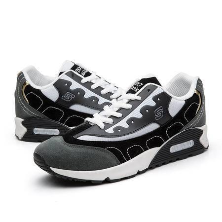 新款男士休闲鞋 运动鞋板鞋低帮气垫鞋时尚男鞋N-1801款