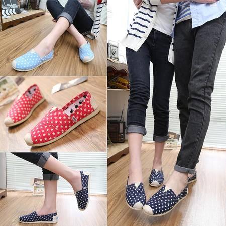 新款时尚休闲男帆布鞋情侣鞋 韩版透气懒人鞋男鞋潮鞋SL-2款