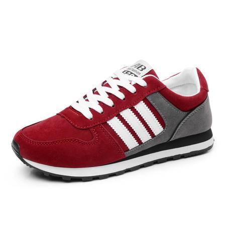 新款休闲运动鞋透气男鞋防滑耐磨跑步鞋 男板鞋1501款
