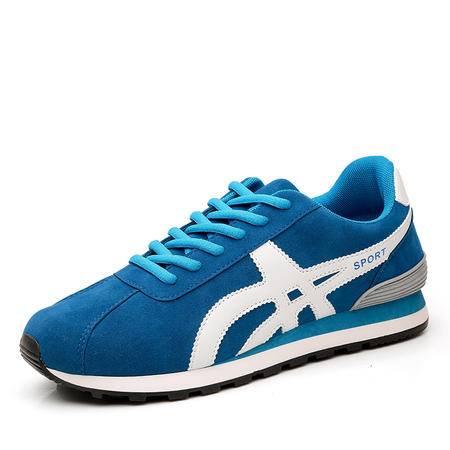 新款休闲运动鞋透气男鞋防滑耐磨学生跑步鞋 男板鞋N-1502款