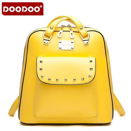 双肩包品牌箱包多功能单肩斜跨书包背包女D5004