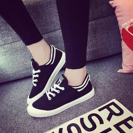 女鞋HD春夏王菲同款帆布鞋淘宝爆款小白鞋女式运动休闲平底板鞋