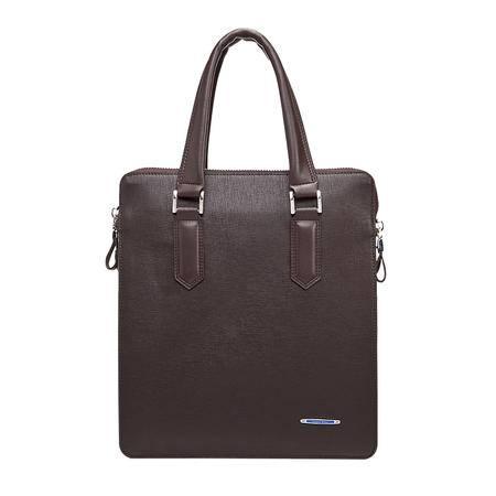威登保罗 牛皮欧美商务竖款男士包包 时尚休闲手提包 公文包1050B-2