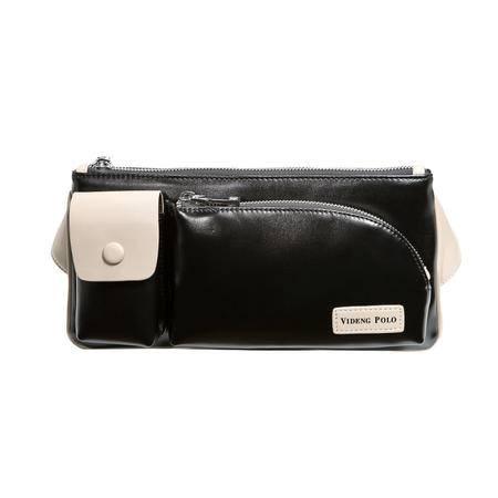 威登保罗 新款男士腰包 户外多功能包 运动时尚韩版潮流手机腰包1051P-2