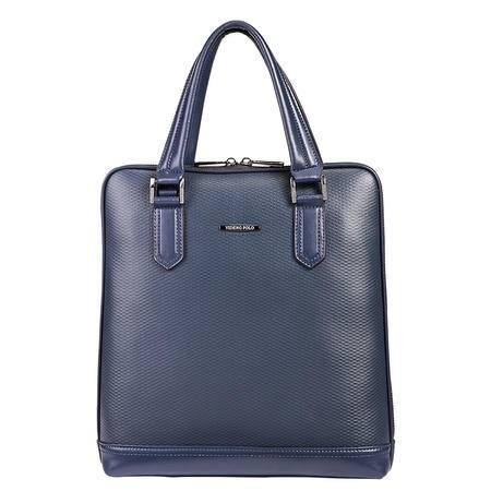 威登保罗男包新款竖款商务休闲单肩斜挎包时尚男士手提包袋-2
