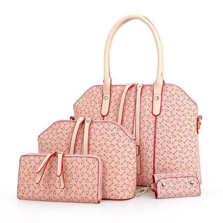 欧美女包冬款子母包四件套 箭头手提包 品牌包-2