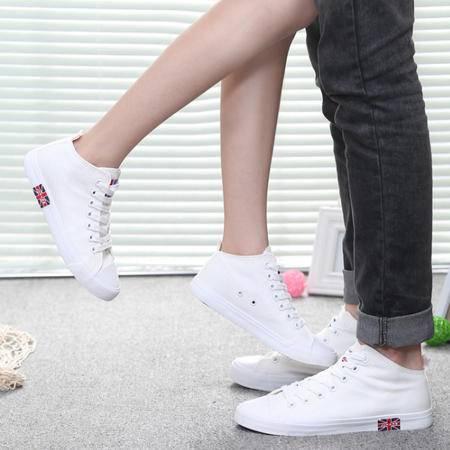 5新款男女情侣鞋 韩版透气板鞋时尚休闲鞋 经典帆布鞋