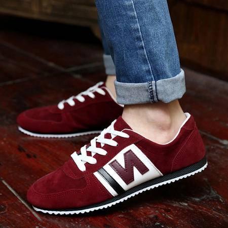 2015新款男鞋 韩版n字休闲运动板鞋爆款帆布鞋