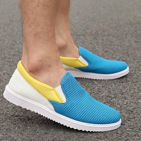 韩版透气男士网鞋 时尚休闲男鞋潮流户外网鞋