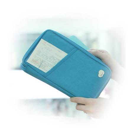 新款多功能高品质男女通用加大型护照包 创意卡包 票夹