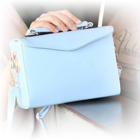 新款时尚韩版手提包包箱子单肩斜跨包