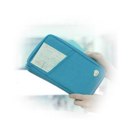 新款多功能男女通用加大型护照包创意卡包