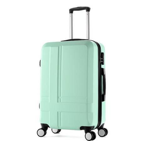 京嵘保罗 拉杆箱万向轮学生行李箱旅行箱子密码箱包登机硬箱24寸