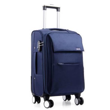 京嵘保罗牛津布旅行箱箱包拉杆箱布箱登机箱密码行李箱20寸