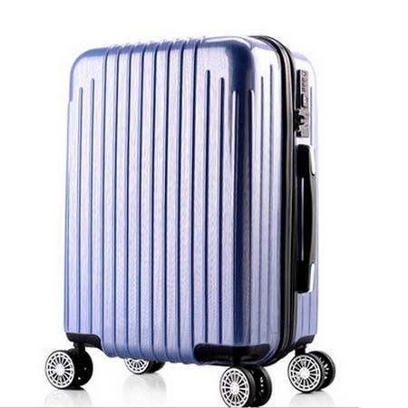 京嵘保罗拉杆箱 万向轮密码箱abs+PC拉杆箱 旅行箱 行李箱26寸