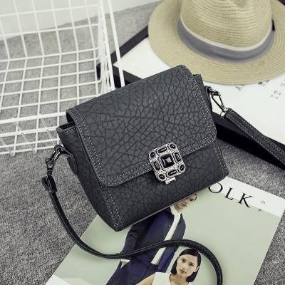 韩国订单2016新款时尚复古小方包单肩包斜跨包迷你小包包潮流女包