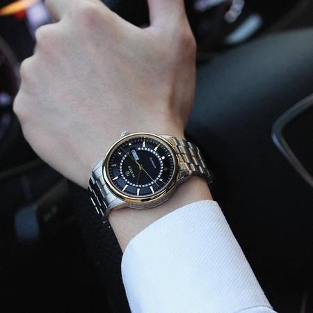 [威诺时/vinoce]男士机械手表 全自动机械表精钢防水商务男表WNS