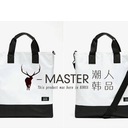 韩国同步春夏新品 韩国手拎包 白领文件包 男女包 单肩斜挎包 MST