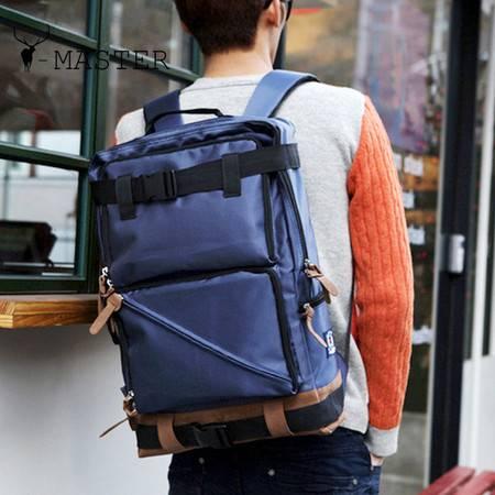 学生背包大容量旅行双肩包男 休闲帆布包 户外旅游包MST