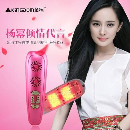 金稻kd-5000美容仪器红光微电流乳络梳家用丰胸个人护理按摩仪JD