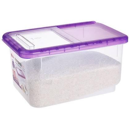 振兴米桶储米箱10KG密封20斤面桶米缸塑料带盖滑盖防虫送量杯装米