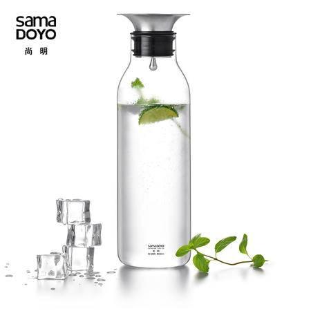 尚明时尚礼品冷水壶凉高硼硅耐热玻璃水具果汁壶大容量水杯套装JR