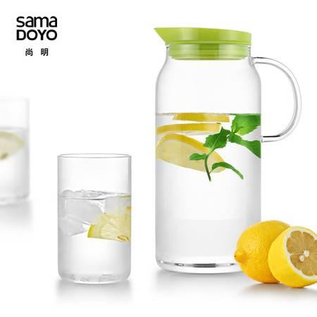 尚明高硼硅耐热玻璃冷水壶果汁壶凉水壶水瓶水具JR